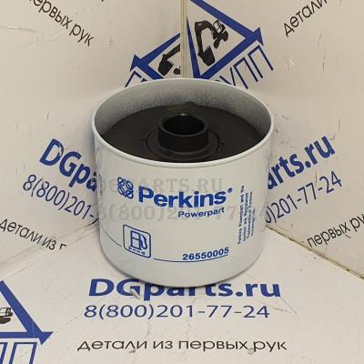 Купить Фильтр топливный Perkins 26550005 Perkins по цене 696.0000 в интернет магазине с доставкой