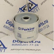 Фильтр топливный Perkins 26561117